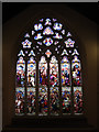 TQ3776 : West window of St John's church, Deptford by Stephen Craven