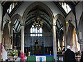 TQ3264 : St Andrew's church, Croydon: interior before reordering by Stephen Craven