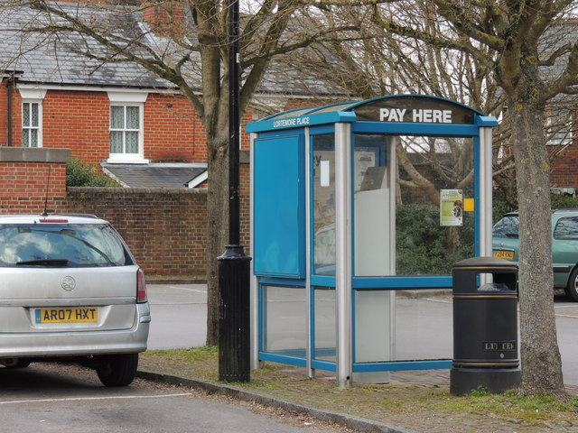 Car Park Pay Station - Romsey