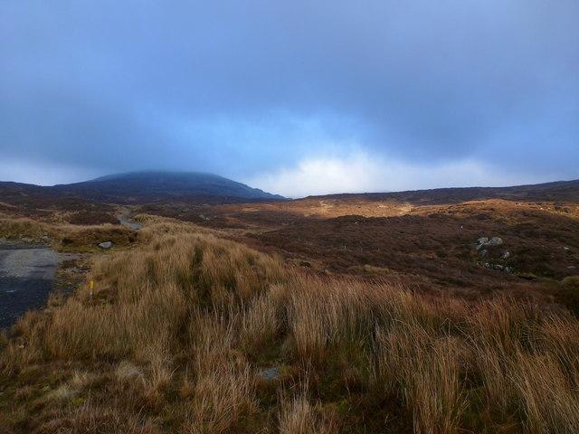 Ascent to Croaghanarget