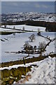 SK2370 : Snow scene, Handley Lane by Peter Barr