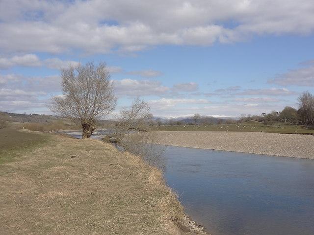 River Lune near Caton Green
