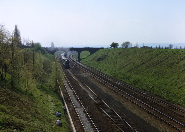 Railway cutting