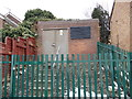 SE3028 : Electricity Substation No 2925 - Manor Farm Road by Betty Longbottom