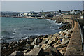 SW4730 : Coastal Defences, Penzance by Peter Trimming