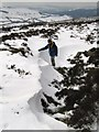 SO3596 : Snow drift near Nipstone Rock by Dave Croker