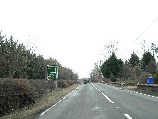 A697 road