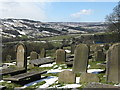 SK2692 : High Bradfield Churchyard by Dave Pickersgill