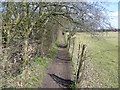 TQ4469 : Footpath on the Hawkwood Estate by Ian Yarham