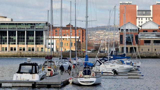 Belfast Harbour marina (2013-1)