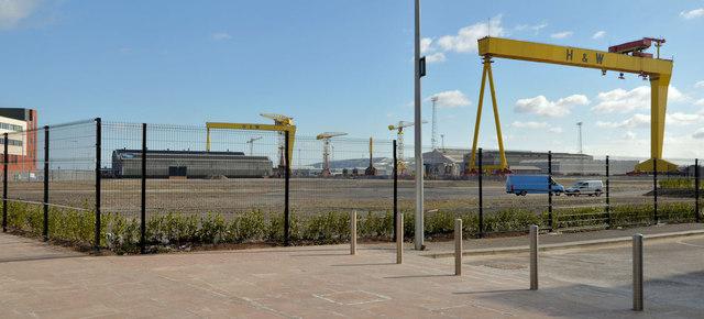 Titanic Quarter site, Belfast (2013-1)
