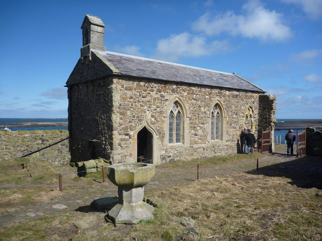 Font by Chapel of St. Cuthbert, Inner Farne