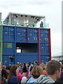 TQ3784 : Stratford: BBC studio at the Olympic Park by Chris Downer