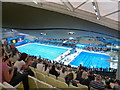 TQ3884 : Stratford: inside the Olympic Aquatics Centre by Chris Downer