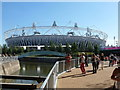 TQ3784 : Stratford: the Olympic Stadium by Chris Downer