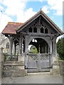 ST8982 : Lych  Gate  St  Mary's  Hullavington by Martin Dawes