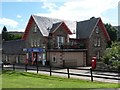 NH3709 : Fort Augustus: the post office by Chris Downer