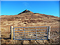 NG2241 : Gate on Bealach Bharcasaig by John Allan