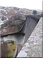 SN8968 : Craig Goch reservoir dam by Rudi Winter