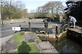 SJ9689 : Lock nine at Station Road, Marple by Peter Turner