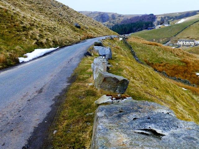Upland Narrow Minor Road