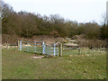 TQ4692 : New gates, Hainault Forest Country Park by Robin Webster