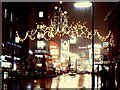 TQ2980 : Christmas lights in Regent Street by Richard Green