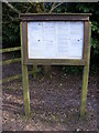 TM4770 : Dunwich Village Notice Board by Adrian Cable