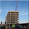 TQ3978 : Greenwich Square under construction (3) by Stephen Craven