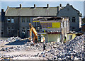 J5182 : Demolition, Bangor by Rossographer