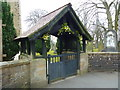 SD6332 : St Leonard's Church, Balderstone, Lychgate by Alexander P Kapp