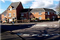SU0682 : Sprats Barn Crescent mini-roundabout, Royal Wootton Bassett by John Grayson