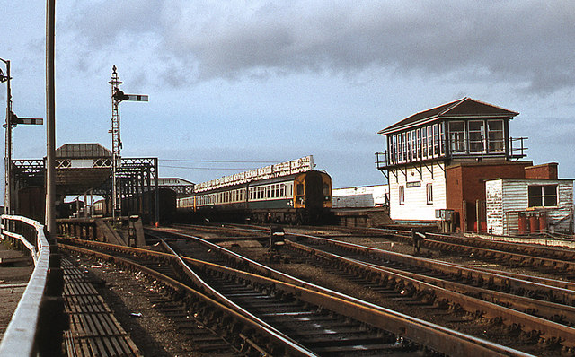 Stranraer Harbour Station   The Carlisle Kid