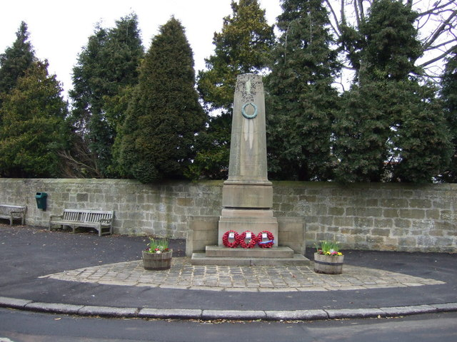 War Memorial, Longhirst