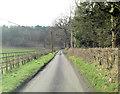 SU7685 : Benhams Lane north of Fawley Court Farm by Stuart Logan