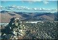 NN3741 : Beinn Mhanach summit by Alan Reid
