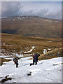 SD7998 : Snow on the moor east of Mallerstang by Karl and Ali