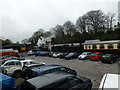 SX0766 : Station yard at Bodmin by SMJ