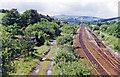 SE0008 : Site of former Diggle station, 1996 by Ben Brooksbank