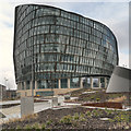 SJ8498 : One Angel Square, Manchester by David Dixon