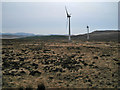 NG3445 : Windfarm moorland by Richard Dorrell