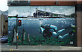 NS5964 : Clyde Street murals by Thomas Nugent