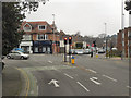 SZ0591 : Leicester Road/Penn Hill Avenue Junction, Branksome by David Dixon