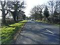 SJ8070 : B5392 Farm Lane looking west by Colin Pyle