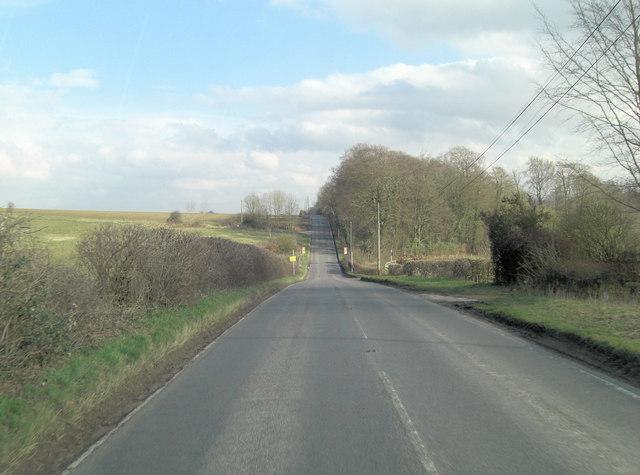 B482 southeast of Cutlers Farm