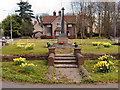 SJ7281 : Mere War Memorial and Garden by David Dixon