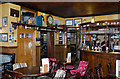 TL4458 : The Eagle pub, Cambridge - interior by TheTurfBurner