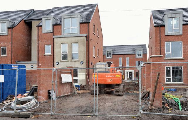 New social housing, Sydenham, Belfast (4)