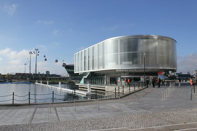 The Thames Cable Car Terminal