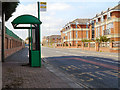 SJ5287 : Bus Stop on Moorfield Road by David Dixon